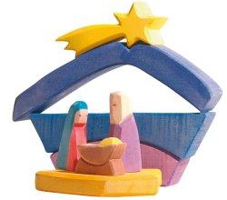 画像2: オストハイマー レインボーのキリスト生誕セット