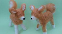 画像2: 秋田犬 銅線人形